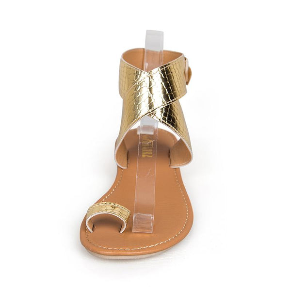 PU Casual Adjustable Buckle Sandals