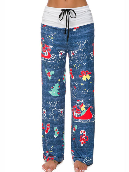 4 Colors Cozy Christmas Holiday Warm Pants