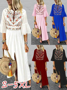 Cotton Half Sleeve Summer Dresses
