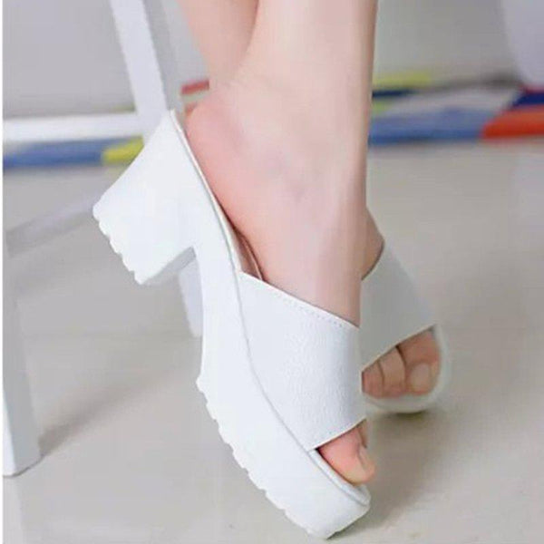 Immortal style High Heeled Platform Soft Ladies Sandals