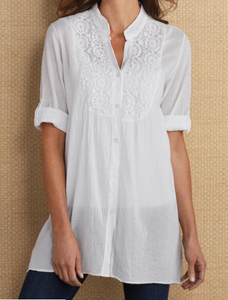 Elegant Short Sleeve Shirt