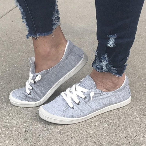 Fashion Street Style Low Top Canvas Sneakers for Women