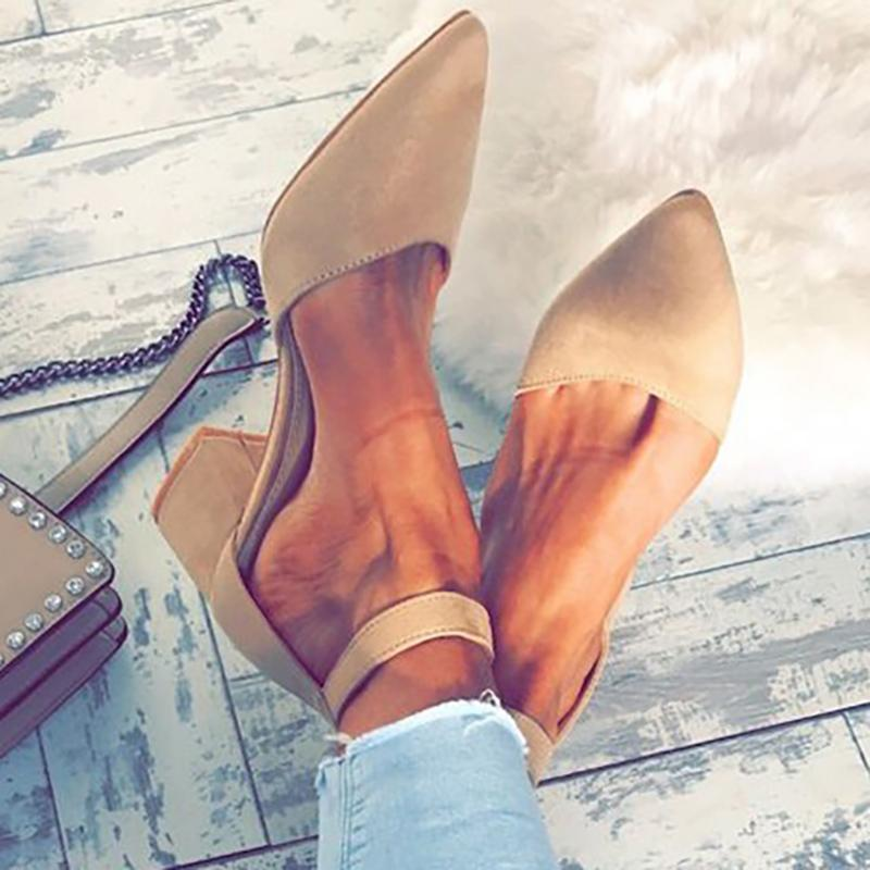 Spring/fall Casual Chunky Heel Shoes