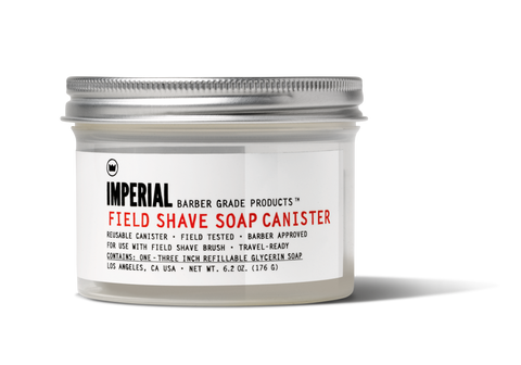 Field Shave Soap Canister