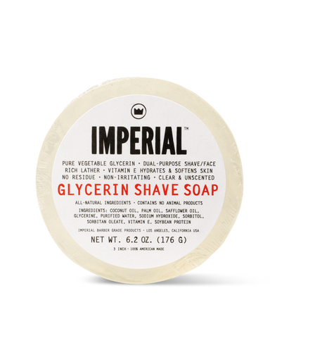 Glycerin Shave/ Face Soap Puck