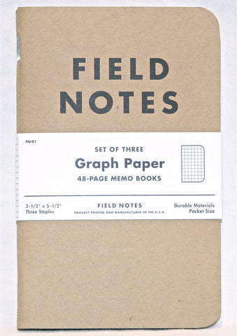 Graph Paper (Set of 3)
