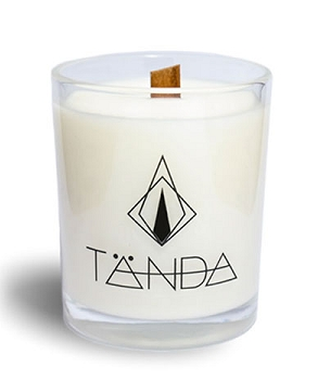 TÄNDA Modern Candle - French Vanilla Bourbon