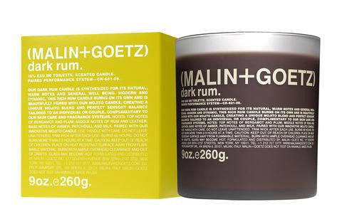 malin and goetz, dark rum candle, lukes drug mart, calgary, canada