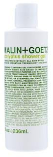 malin and goets, eucalyptus shower gel, lukes drug mart, calgary, canada, apothecary, skin care