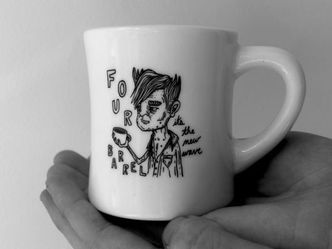 Aging Rocker Series - New Wave Mug