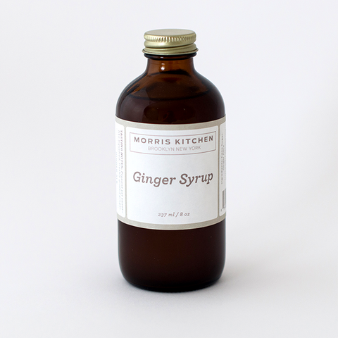 Ginger Syrup (237 ml/8 oz)