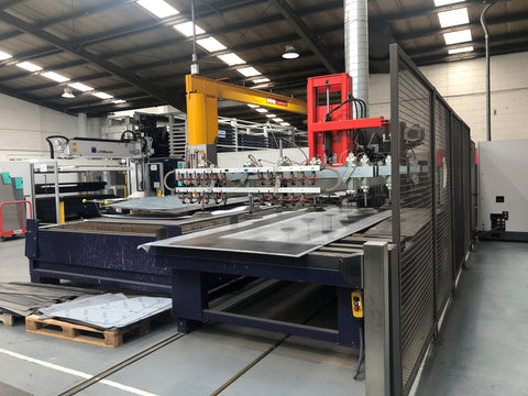 Bystronic automatic loader BSL swivel loader laser automation automatic material table