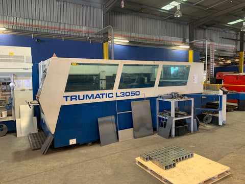 Trumpf L3050 laser cutting machine for sale laser consumables australia