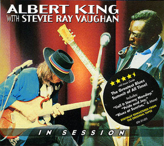 ALBERT KING  / STEVIE RAY VAUGHAN - IN SESSION