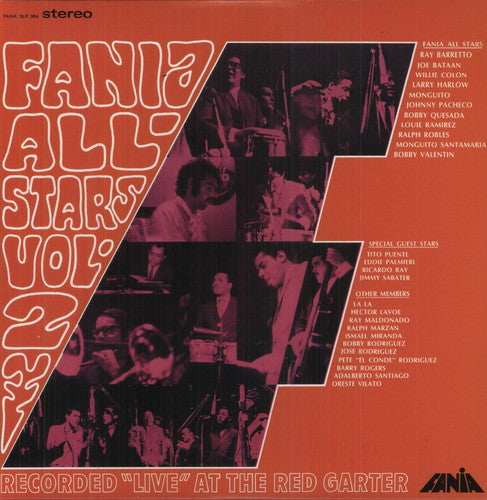 FANIA ALL-STARS - VOL. 2 LIVE AT THE RED GARTER