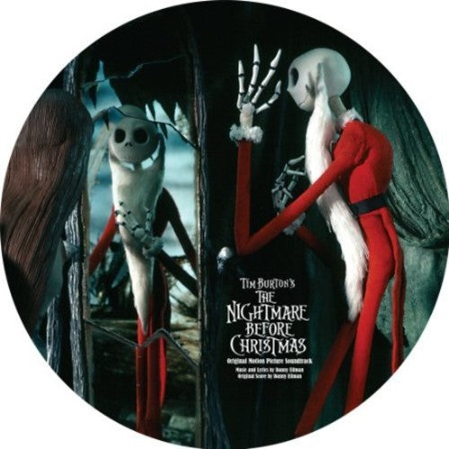 "TIM BURTONS ""A NIGHTMARE BEFORE CHRISTMAS"" SOUNDTRACK"