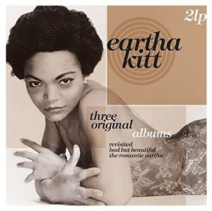 EARTHA KITT - THREE ORIGINAL ALBUMS