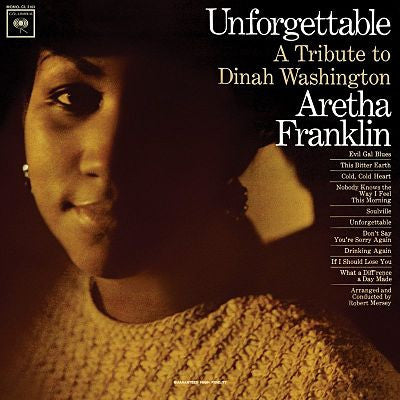 Aretha Franklin ‎– Unforgettable - A Tribute To Dinah Washington