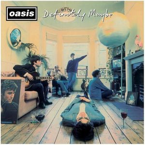 Oasis - Definitely Maybe [2LP] (gatefold, download, remastered)