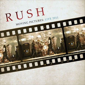 RUSH - MOVING PICTURES: LIVE 2011 (180 GR)