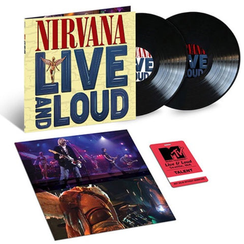 NIRVANA-LIVE AND LOUD