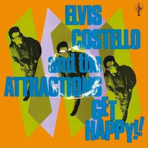 ELVIS COSTELLO & THE ATTRACTIONS - GET HAPPY!!