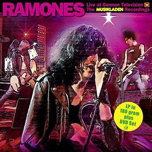 Ramones - Live At German Television: The Musikladen Recordings 1978 [LP+DVD]
