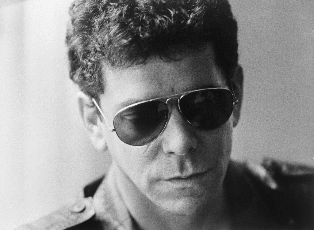 Lou -Reed -Hassled in april   IMPORT