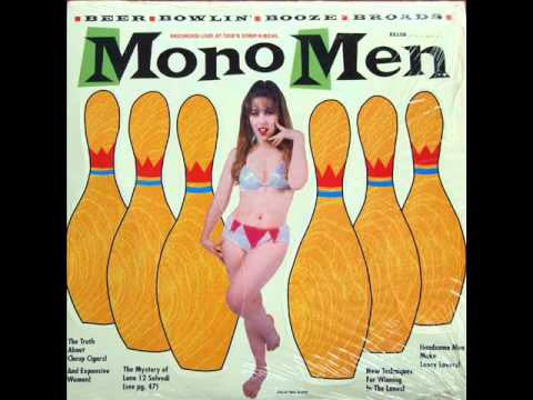 MONO MEN - LIVE BEER BOWLIN' BOOZE BROADS NM/NM