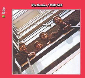 THE BEATLES - 1962-1966 (RED ALBUM)