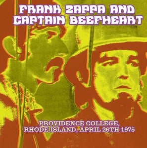 ZAPPA -FRANK -/ -CAPTAIN -BEEFHEART - PROVIDENCE COLLEGE RHODE ISLAND APRIL 26TH 1975