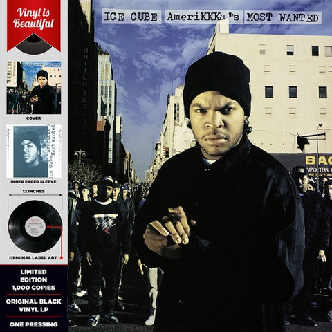 ICE CUBE-AMERIKKKA'S MOST WANTED
