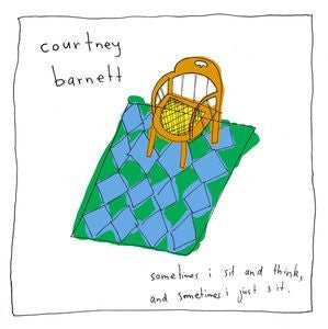COURTNEY BARNETT - SOOMETIMES I SIT AND THINK...(DELUXECOLORED VINYL)