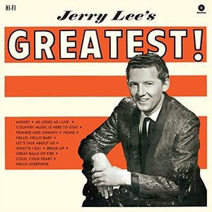 Jerry Lee Lewis - Jerry Lee's Greatest [LP] (180 Gram, import)