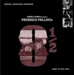 Nino Rota/Frederico Fellini - 8 1/2 (Soundtrack) [LP] (limited to 500, import)
