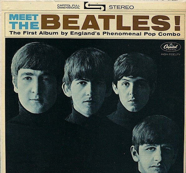 THE BEATLES - MEET THE BEATLES (MONO T-2047-1964)