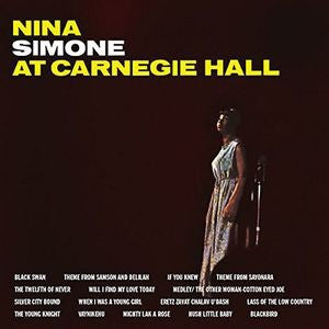 Nina Simone - At Carnegie Hall [2LP] (Audiophile Clear Vinyl)