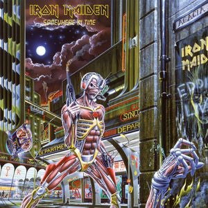 IRON MAIDEN - SOMEWHERE IN TIME (IMPORT)