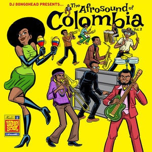THE AFROSOUND OF COLOMBIA VOL.2 [CD]