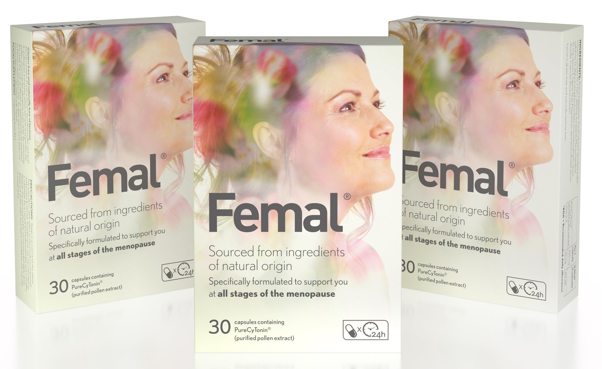Femal Quarterly Subscription - 3 Packs Delivered Every 85 Days