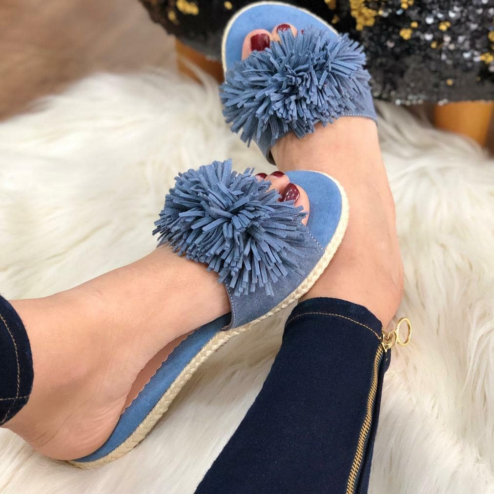 Daily Summer Flat Heel Slippers
