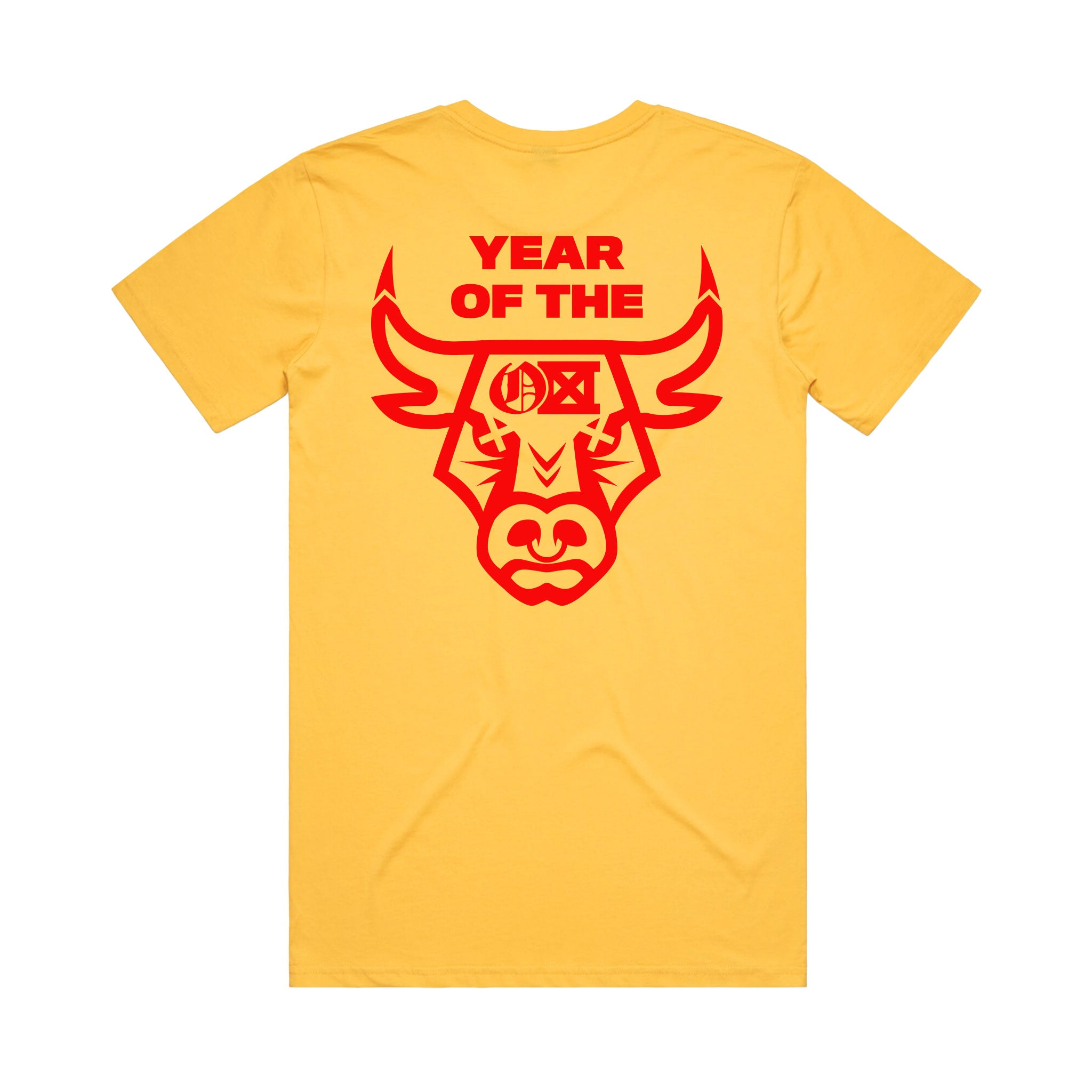 YEAR OF THE OX Tee - Yellow
