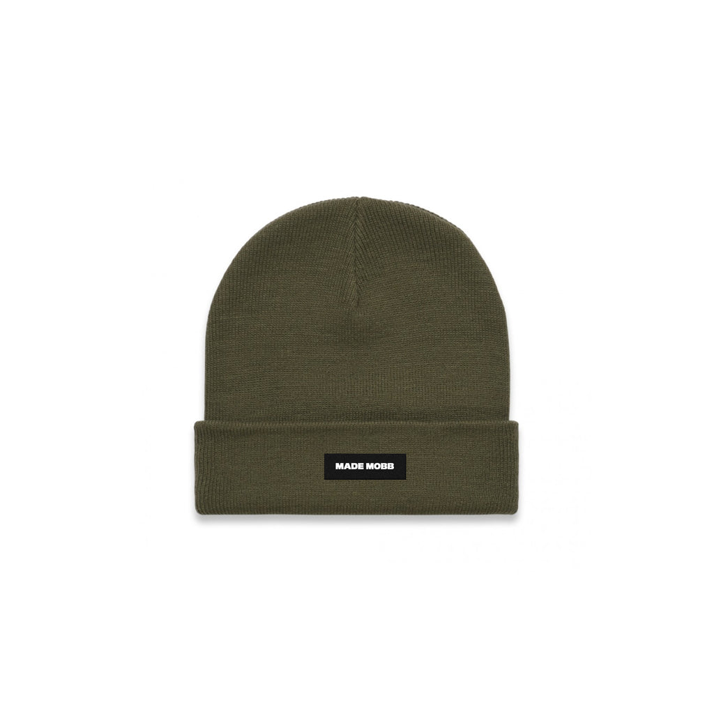 MADE MOBB Cuff Beanie - Army