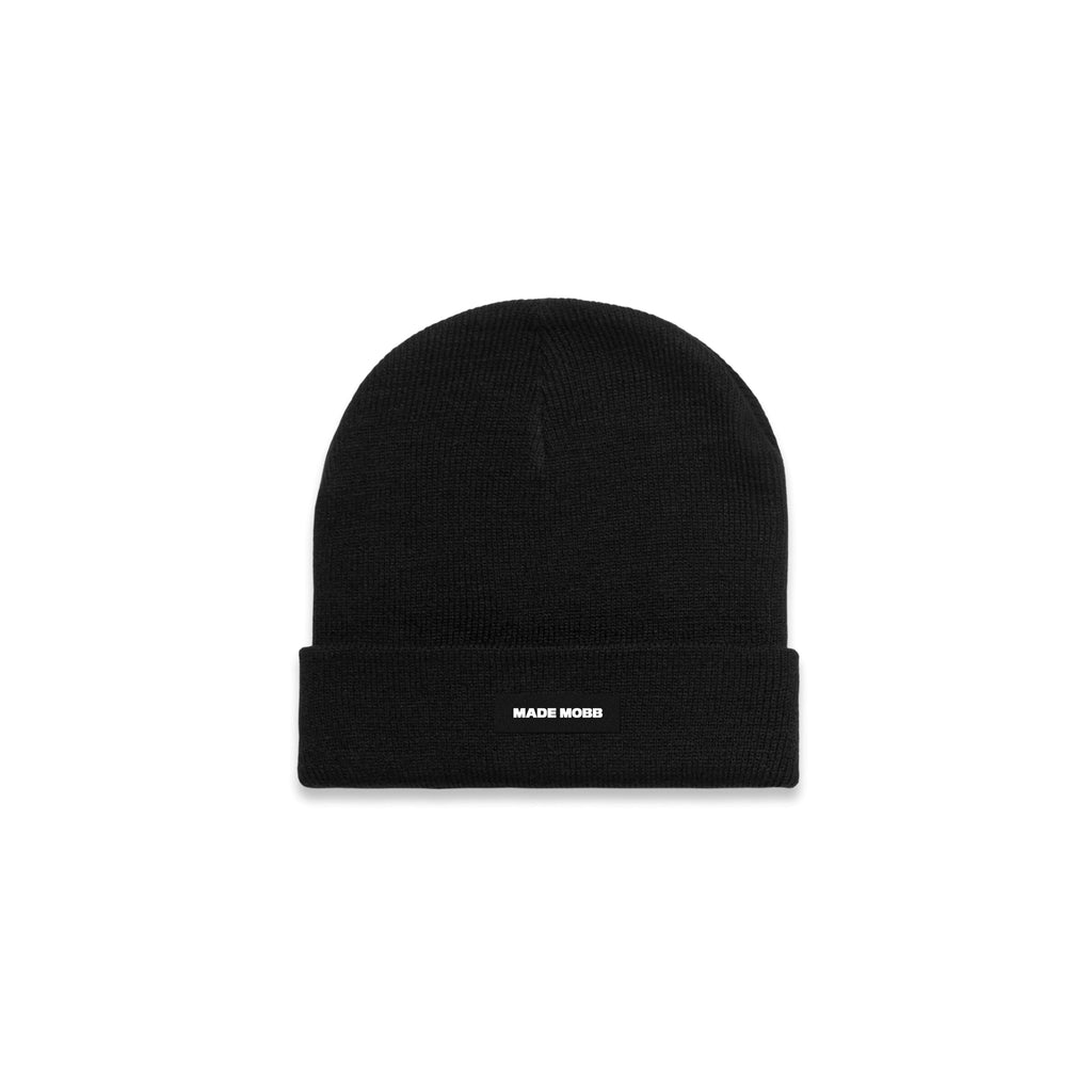 MADE MOBB Cuff Beanie - Black