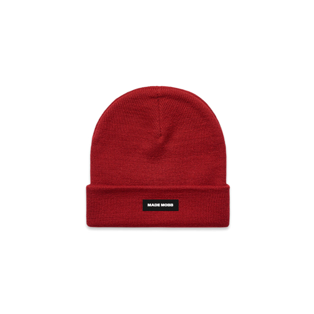 MADE MOBB Cuff Beanie - Red