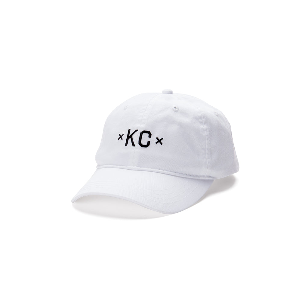 Signature KC Dad Hat - White