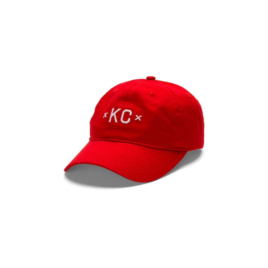 Signature KC Dad Hat Red