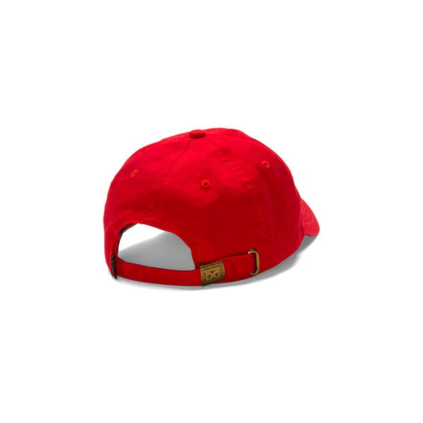 Signature KC Dad Hat - Red – MADE MOBB 5bce6124045