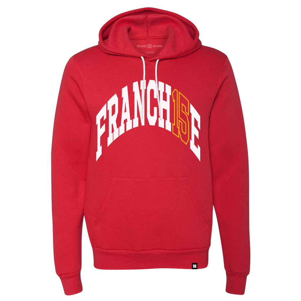 FRANCH15E Hoodie - Red - Preorder