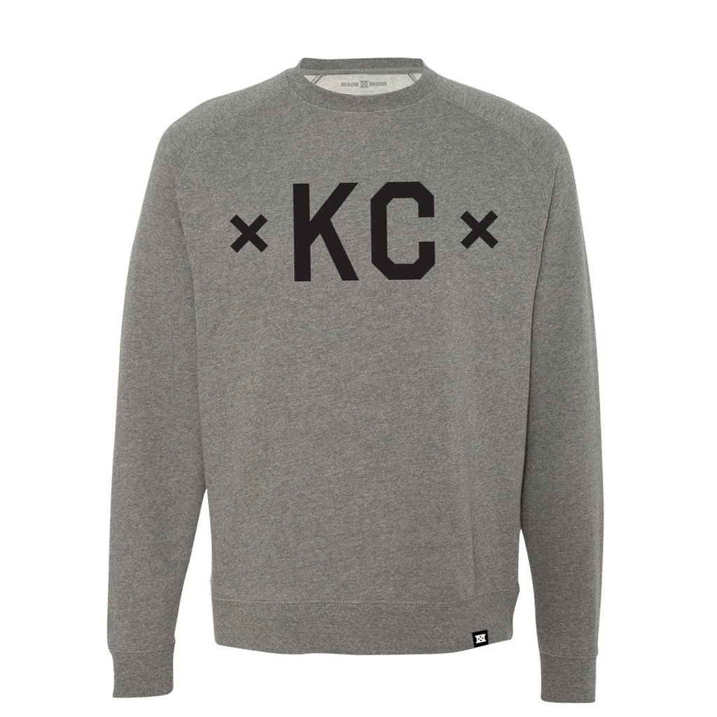 Signature KC Crewneck - Gunmetal